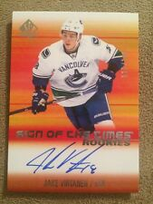 SP Authentic 15-16 Jake Virtanen Rookies Sign Of The Times/199 Vancouver Canucks