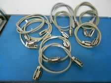 Ieee-488 & National Instruments 763061-02 X2 Gpib Cables (1 & 2 Maters) Lot of 9
