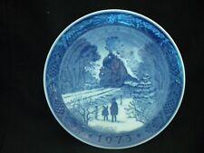 Train -1973 - Going Home For Christmas - Christmas Plate-Royal Copenhagen
