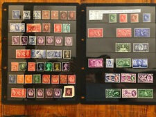 PRE DECIMAL Stamp COLLECTION ~ Machins, King Edward viii MINT 1936 etc.