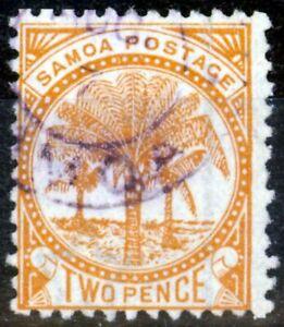 Samoa 1890 2d Brown-Orange SG36 Fine Used