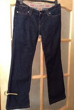 """Dolce & Gabbana Icon Ladies Jeans W30"""" L 30"""" Low Rise, Bootcut D&G With Stretch"""