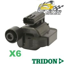 TRIDON IGNITION COIL x6 FOR Honda  Accord (V6)CG, CK 12/97-2000, V6, 3.0L J30A1