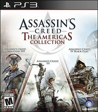 Assassin's Creed Collection PS3 Sony PlayStation 3 Liberation,III, IV Black Flag
