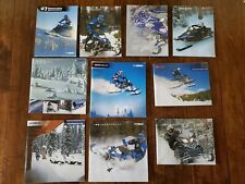 Yamaha Snowmobile Literature * 2001 - Present * Pick Your Year