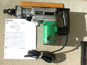 "Hitachi 1-1/2"", DH38YE Rotary Hammer Drill, Breaker. Spline Drive Bits> Only."