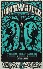 VERY RARE Lucinda Williams 2003 Fillmore SF Concert Poster Hugh D'Andrade F599