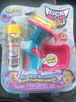 Lick A Bubble Add Any Drink -Made In USA Easter Basket Bubble Blower Outdoor Toy
