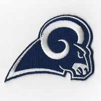 Los Angeles Rams Iron on Patches Embroidered Badge Patch Applique Navy Blue FN