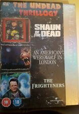 Shaun Of The Dead/American Werewolf In London/The Frighteners (DVD, 2006, 3-Dis…