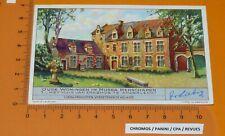 CHROMO LIEBIG 1939 S 1409 VIEILLES DEMEURES MUSEES N°1 ERASME ANDERLECHT