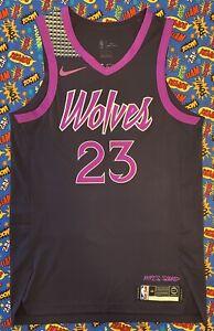 Authentic Nike NBA Minnesota Timberwolves MLPS Sound Jimmy Butler Jersey