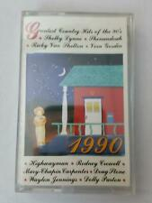 GREATEST COUNTRY HITS OF THE 90'S 1990 PCT47320 Cassette Tape