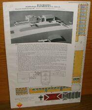 alter Ravensburger Modellbaubogen Flughafen 2210 H0 Papierbastelbogen