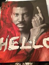 Lionel Richie Hello Book