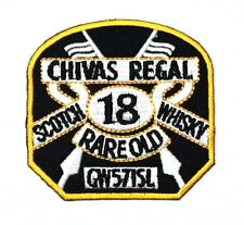 Chivas Regal Scotch 18 Whisky Old Scotland Blended Shirt Clothing Applique patch