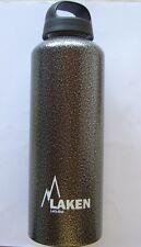Trinkflasche LAKEN Classic aus Alu, Farbe Granit, Inhalt 1,00 Liter