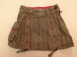 Rare VGC Designer Baby/ Toddler DKNY Plaid/ Tarten Skirt with Zip openings 9-12
