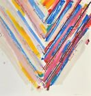 Large Kenneth Noland Stencil Print, Signed Edition