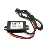 Dual USB Car Power Converter Phone Charging DC-DC Step-down Module 12V to 5V 3A