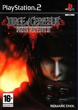 Dirge Of Cerberus - Final Fantasy VII For PAL PS2 (New & Sealed)
