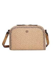 Eric Javits Designer Women's Bag Handbag Squishee® Courbe Peanut NEW AUTHENTIC