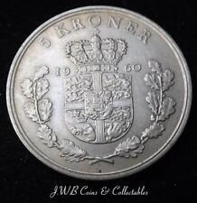 1960 Denmark 5 Kroner Coin