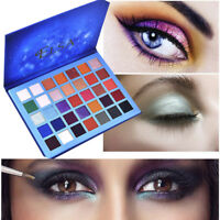 35/18 Color Starry sky Shimmer Glitter Eye Shadow Plate Powder Matt Eyeshadow