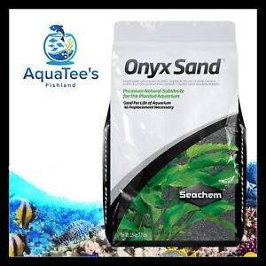 Seachem ONYX SAND 3.5kg Planted Aquarium Fish Tank Substrate Shrimp Aquascape