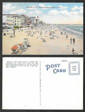 Old Maine Postcard - Bathers at Old Orchard Beach, Atlantic PC Co. #0.0.12