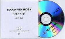BLOOD RED SHOES Light It Up 2010 UK 1-trk promo test CD