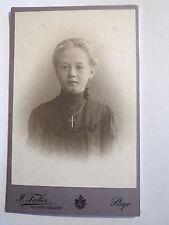 Steyr - Mädchen im Kleid - Portrait / CDV