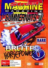 OFFICIAL Street Machine SUMMERNATS 7 DVD! V8s Burnouts