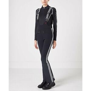 NWT Women's PERFECT MOMENT Ski GT Racing Pants, X-Small, Black/White
