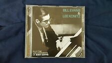 BILL EVANS & LEE KONITZ - PLAY THE ARRANGEMENTS OF JIMMY GIUFFRE. CD