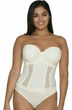 Curvy Kate 32h Luxe Strapless Basque CK017707 Ivory