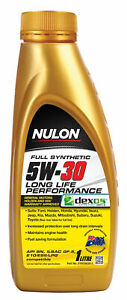 Nulon Full Synthetic Long Life Engine Oil 5W-30 1L SYN5W30-1 fits Kia Mentor ...