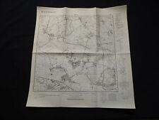 Landkarte Meßtischblatt 3543 Ketzin, Phöben, Paretz, Marquardt, Uetz, 1945