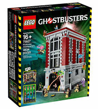 LEGO Ghostbusters 75827 Firehouse Headquarters Building Kit (4634 Piece) - NEW
