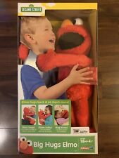 BRAND NEW SEALED BOX Playskool  Big Hugs ELMO Interactive Sesame Street TALKS
