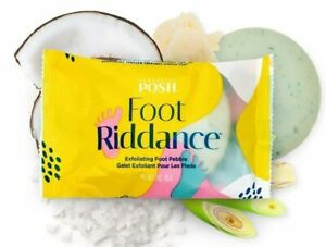 Perfectly Posh - 2 Foot Riddance - Exfoliating Foot Pebble - BRAND NEW