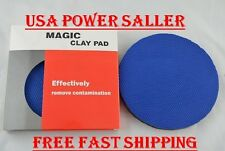 "CLAY BAR POLISH DISC PAD 6"" AUTO CAR WASH DETAILING MEDIUM GRADE COMMERCIAL"
