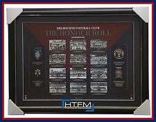Melbourne Demons AFL Honour Roll with Medallions Print Framed + REPLICA MEDALS