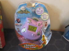 Disney's Fairies Pixie Hollow Clickables Fairy Game Electronic NEW SEALED