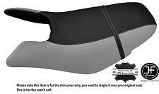 Noir & gris personnalisé pour seadoo gtx gti 97-01 avant vinyle housse de siège + sangle