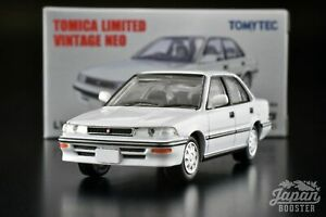 [TOMICA LIMITED VINTAGE NEO LV-N147a 1/64] TOYOTA COROLLA 1600GT 1989 (White)