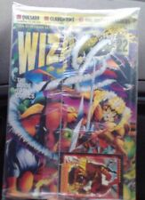 1993 Wizard Comic Guide #22 Deadpool, Sabertooth New Sealed With Collector Card