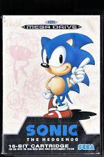 SONIC THE HEDGEHOG. Mega Drive. Sega. PAL. Manual en español.