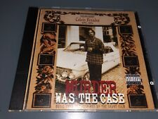 CD: SNOOP DOGG - Murder Was The Case (1994 Death Row Records) Rare OG Press