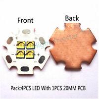 4 UVC LED Chips 275nm Deep UV Ultraviolet Emitting Diode 20mA